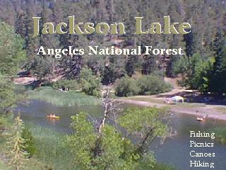 Jackson lake angeles national forest for Lake fishing near los angeles