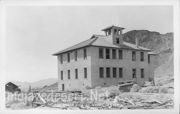 Rhyolite Nevada Historic Photos