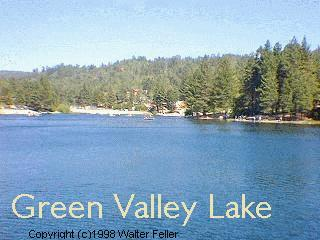 Lakes of the san bernardino national forest green valley for Green valley lake fishing