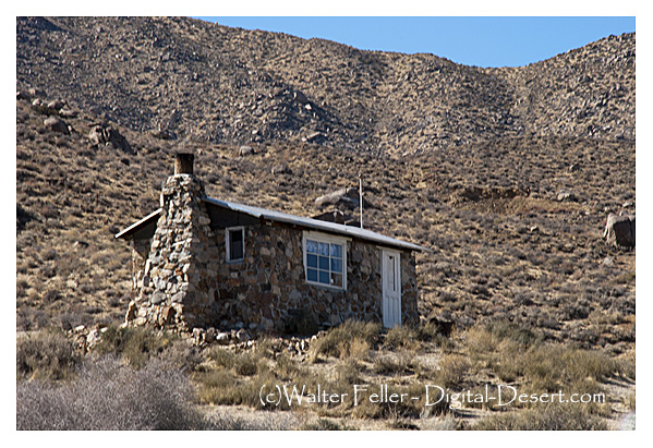Geologist 39 S Cabin In Butte Valley Death Valley National Park