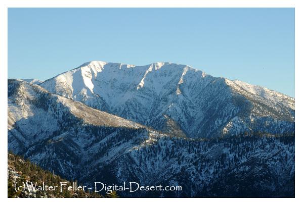 San Gabriel Mountains Southern California Mountains And Valleys - Us map san gabriels mountain range