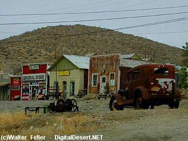 Mojave Desert Ghost Towns