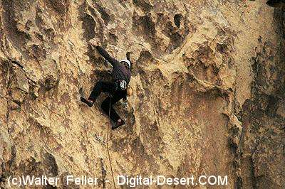 Rock Climbing at Joshua Tree