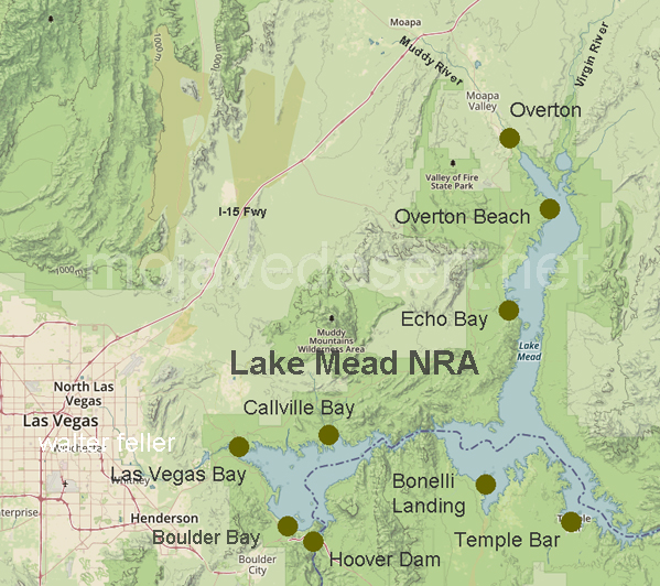 lake mead on map Lake Mead lake mead on map
