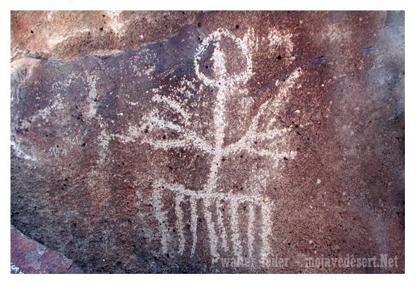 Mojave Desert Petroglyphs