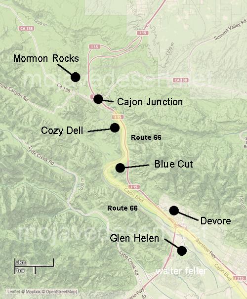 Cajon Pass Route 66