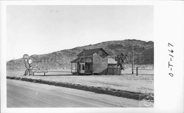 Mojave Ca Old Desert Cafe History