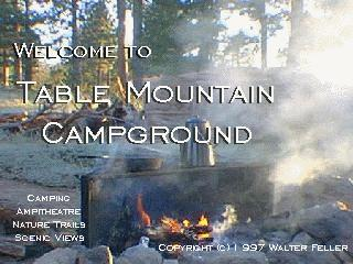 Table Mountain Campground, Wrightwood California, Angeles ...